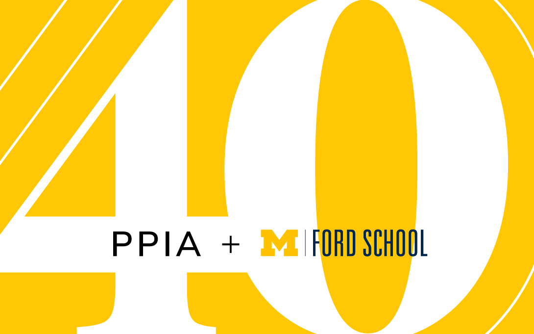 PPIA Junior Summer Institute 40th anniversary celebration - Public Event Hosted by the Ford School