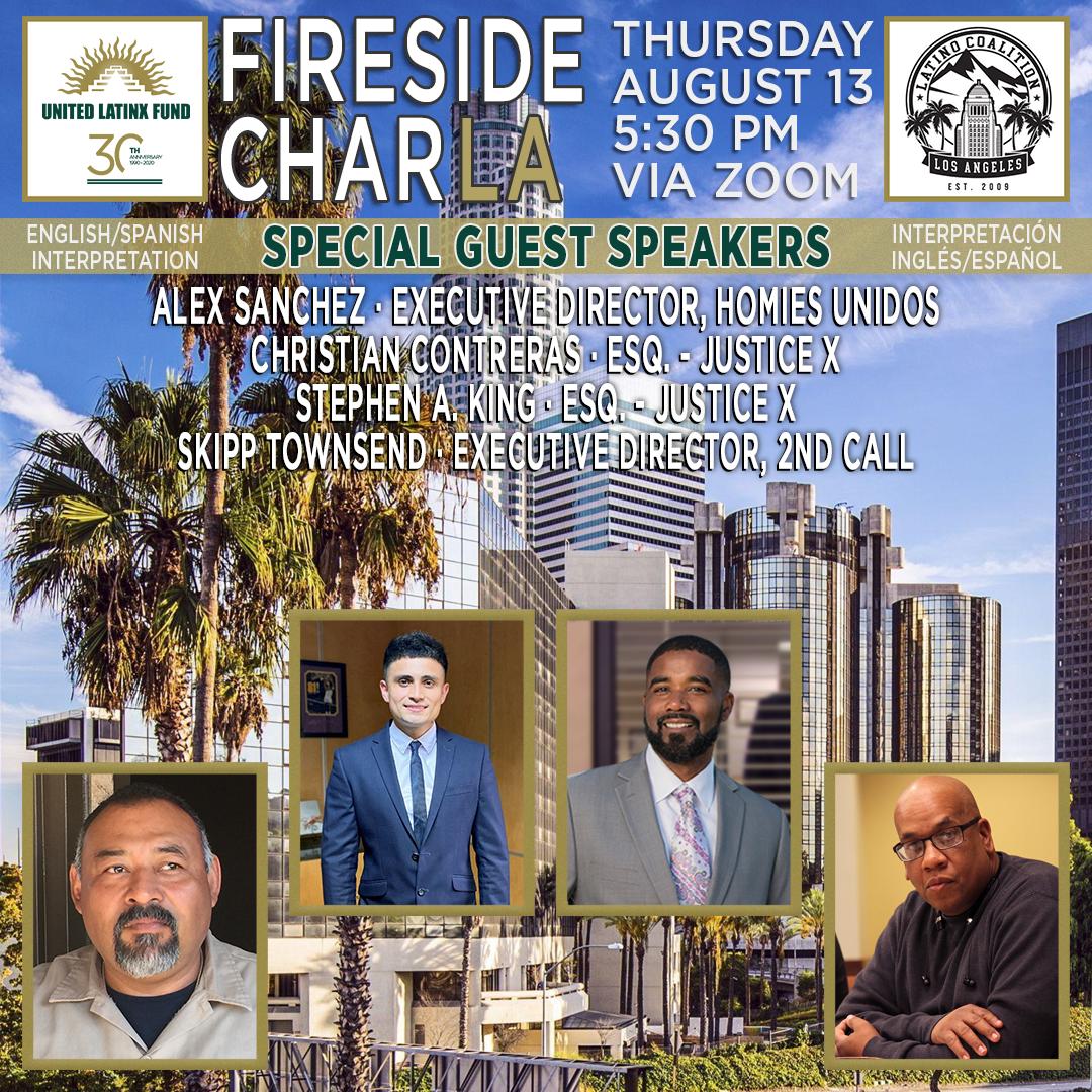 8/13/2020 Fireside CharLA - Black & Brown Unity