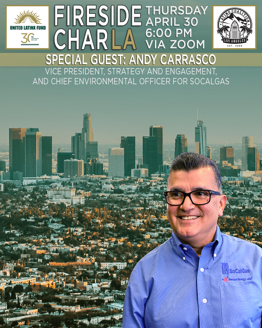 4/30/2020 Fireside CharLA - Featuring Andy Carrasco