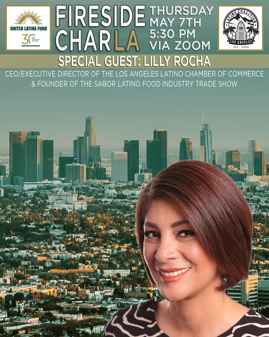 5/7/2020 Fireside CharLA - Featuring Lilly Rocha and Special Guests Tati Polo & Dora Herrera