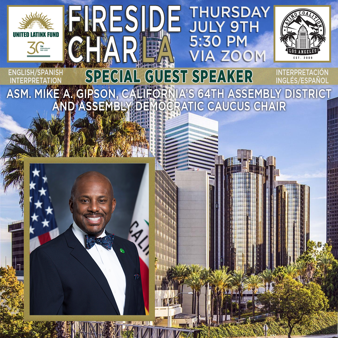 7/9/2020 Fireside CharLA - Featuring Mike Gipson